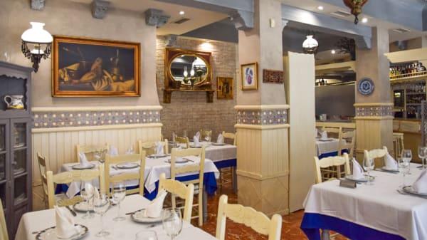 Comedor confortable y climatizado - Restaurante Marisqueria Los Andaluces, Granada
