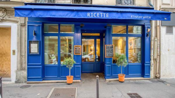 entrée - Ricette Ristorante, Paris