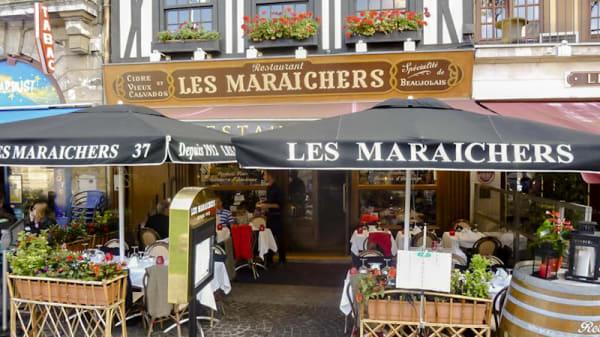 Entrée et terrasse - Les Maraichers, Rouen