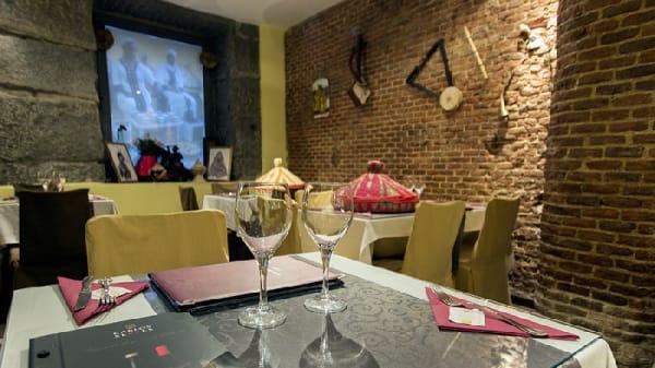 Salón - Hanan Restaurante Etiope, Madrid