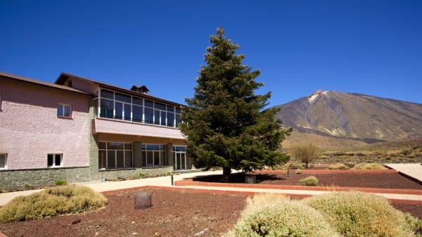 Vista panorámica - Restaurante Parador de las Cañadas, Parque Nacional Teide