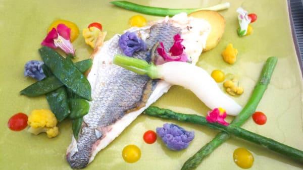 suggestion poisson - Le Dit Vin, Grasse
