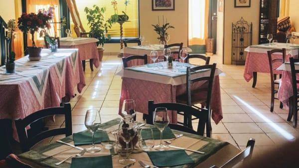 vista sala - Ristorante Giano, Osteria del Gatto