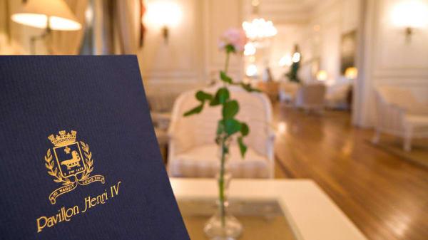 le Pavillon - Hôtel Restaurant Pavillon Henri IV, Saint-Germain-en-Laye