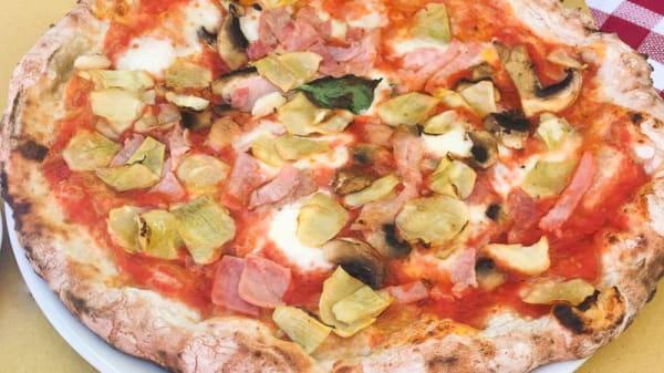 Pizza - Osteria della Vite, Rome