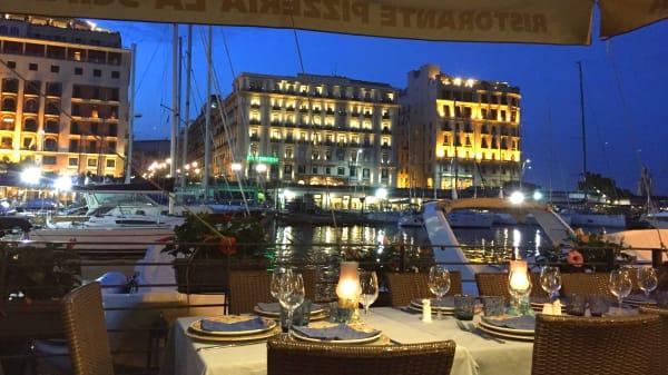 Tavolo sul molo - La Scialuppa, Naples
