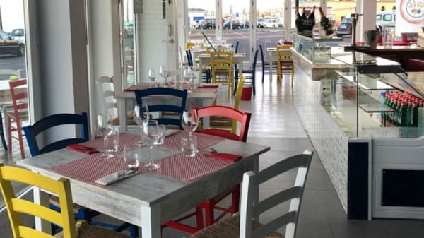 Vista de la sala - Pizza&Co, Corralejo