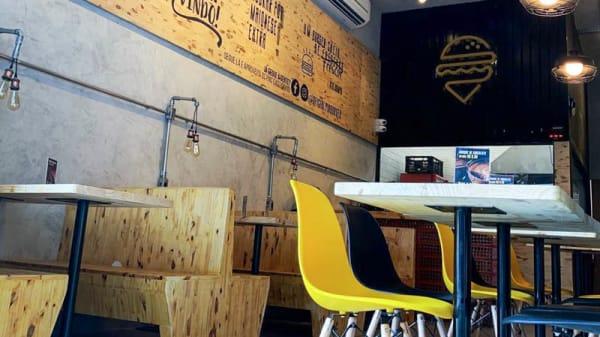 Vista da sala - Pin Burger, São José dos Campos