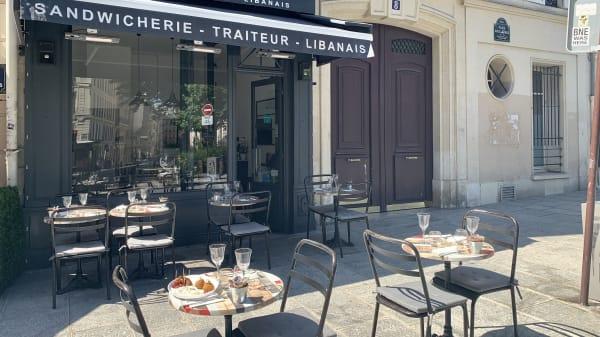 Terrasse - Zaytouna, Paris