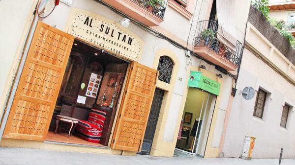 Entrada - Al Sultán, Barcelona