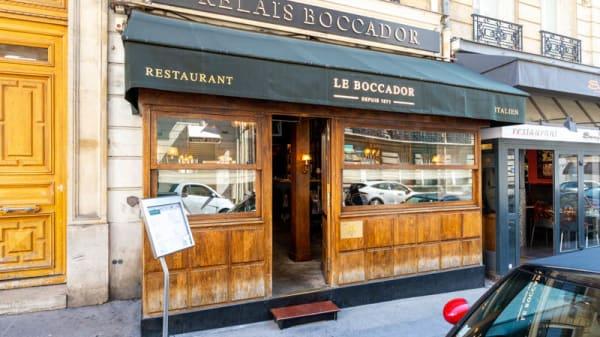 Entrée - Le Boccador, Paris