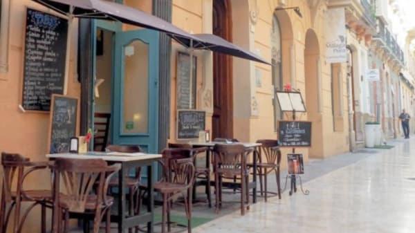 Entrada - El Gastronauta, Málaga