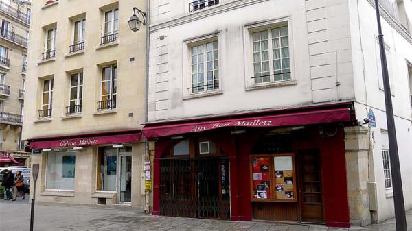 Devanture - Aux Trois Mailletz, Paris