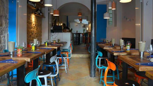 Vue de la salle - Bar à Iode de Charonne, Paris