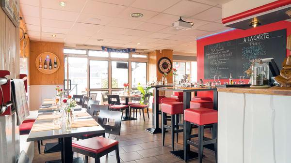 Vue de la salle - Habana Café, Saumur