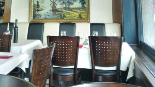 Vue de la salle - Restaurant Atlantic, Lausanne