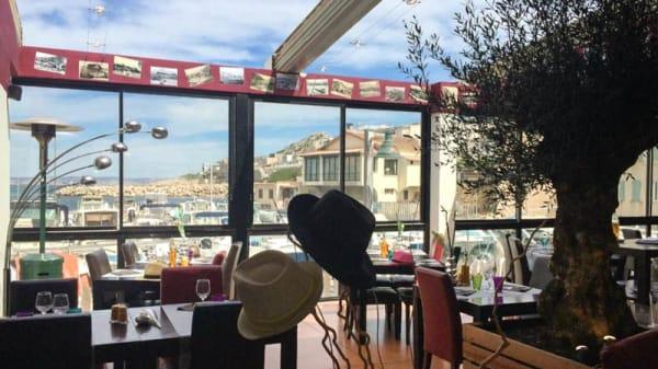 terrasse - Nautica des Goudes, Marseille