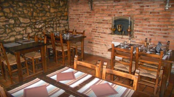 Salle du restaurant - Cidrerie el Sitio, Seyresse
