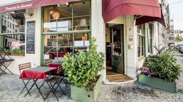 Vue extérieur - Brasserie du Gourmet, Bruxelles
