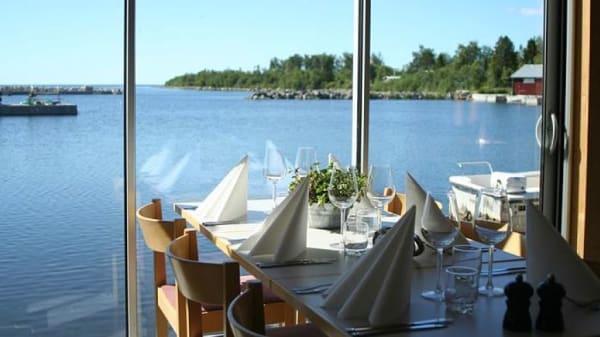 .Restauranten indefra - Kvarkenfisk, Täfteå
