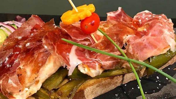 Sugerencia de plato - Saffron-Mediterranean Food, Madrid
