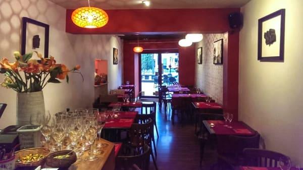 Salle du restaurant - Inde et Vous, Nantes