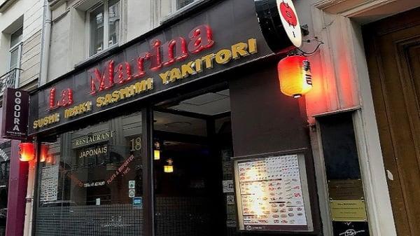 la devanture - La Marina, Paris
