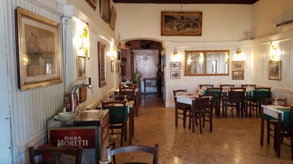 Interno - Trattoria all'Ara Coeli dal 1899, Rome
