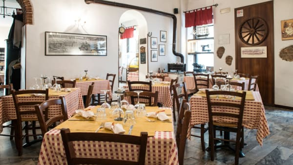 Sala del ristorante - Aldente Trattoria Quadrilatero, Turin