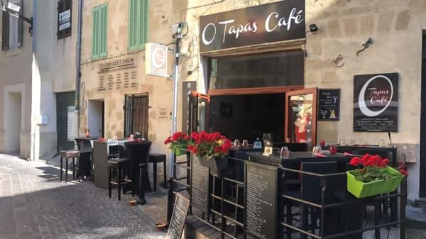 Devanture - O'Tapas Café, Salon-de-Provence