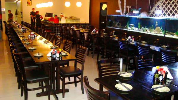sala do restaurante - Chôwa Sushi, São Paulo
