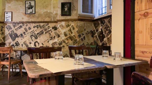 Vista sala - Quarto Burger, Rome