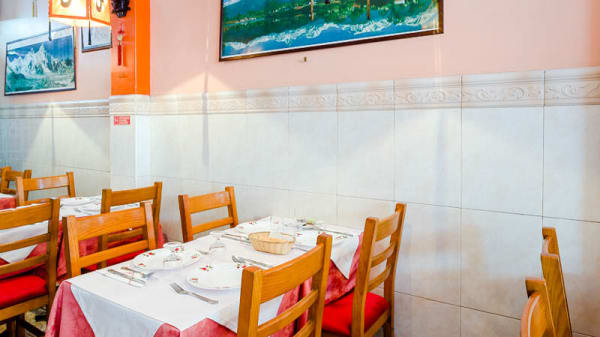 detalhe da mesa - Annapurna, Lisboa