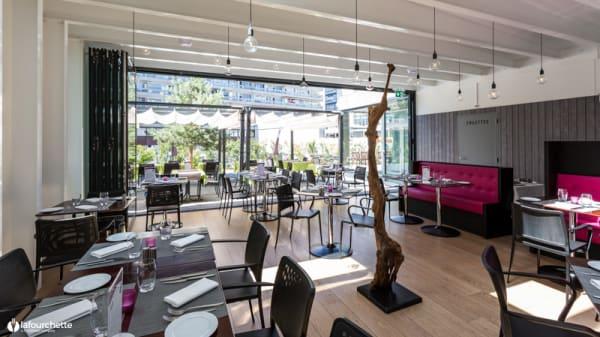 Salle du restaurant - Les Lauriers, Genève