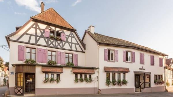 exterieur - Auberge du Cheval Blanc, Westhalten