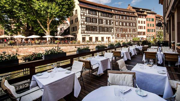 Terrasse - Le Pont Tournant - Hôtel Régent Petite France, Strasbourg