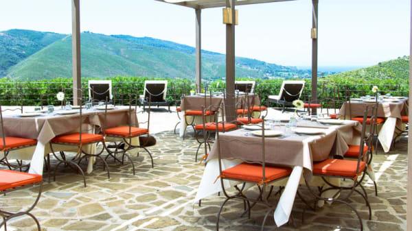 esterno ristorante - Sulle Onde della Collina, Montecorice