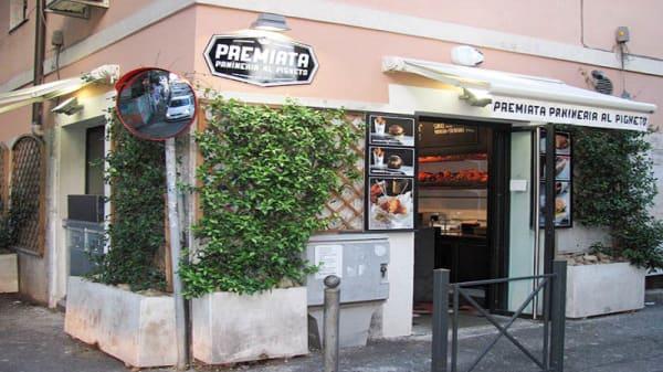 "Entrada - Spirito ""Premiata Panineria"", Rome"