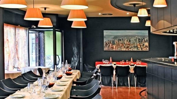 Vista restaurante - El Mig, Olot
