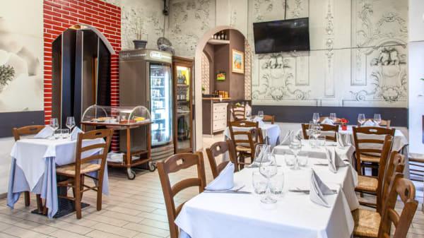 Vista sala - Qui si mangia, Milan