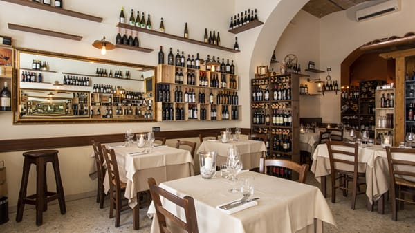 Lo stile - Contrario – vineria con cucina, Rome