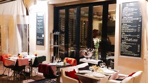 exterieur - Le Hall : Asian Bar, Nice