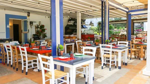 Terrazza - Restaurante Mar i Vent - Parador de Aiguablava, Begur