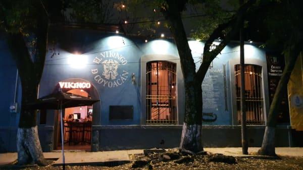 Salón - El Vikingo de Coyoacán, Ciudad de México