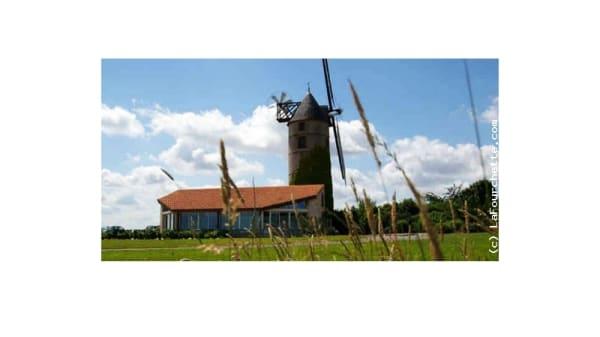 Vue du moulin - Le Moulin de l'Epinay, La Chapelle-Saint-Florent