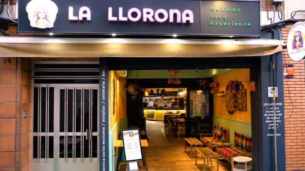 Fachada restaurante - La Llorona Mexican Food Experience, Linares