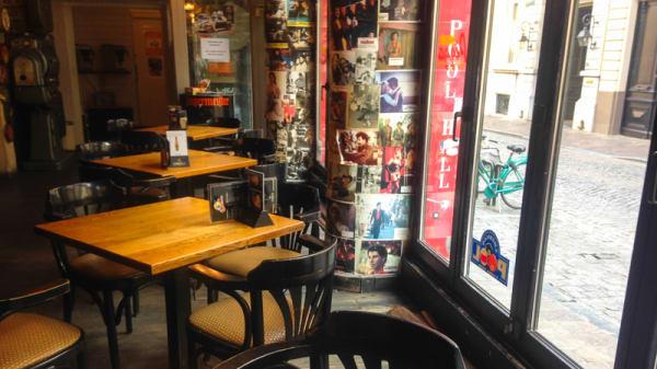 Vue des tables - Charlie Rockets, Bruges