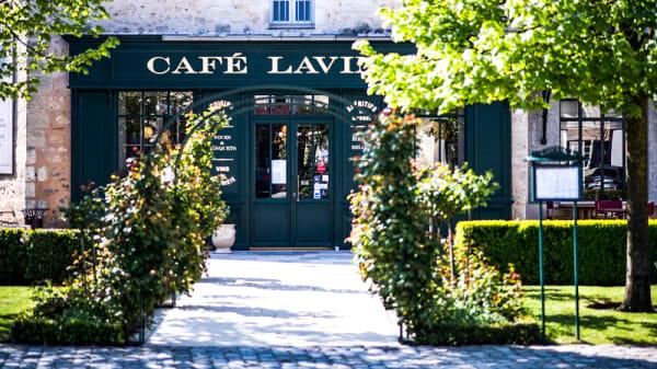Entrée - Café Lavinal, Pauillac