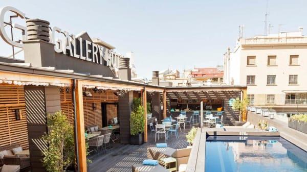 Terraza - The Top - Gallery Hotel, Barcelona