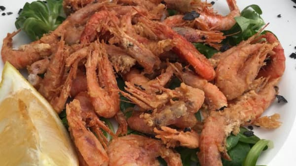 Sugerencia del chef - La Lonja, Aguilas
